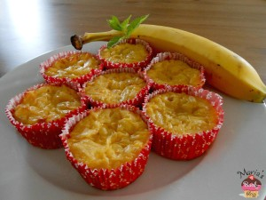 Low Carb Bananen Muffins