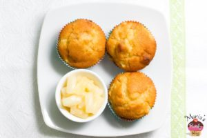 Ananas-Marzipan-Muffins